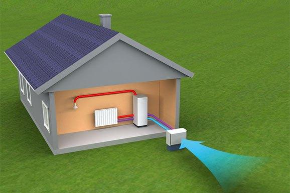 Toplotna črpalka zrak zrak: prijazna alternativa za klimatske naprave